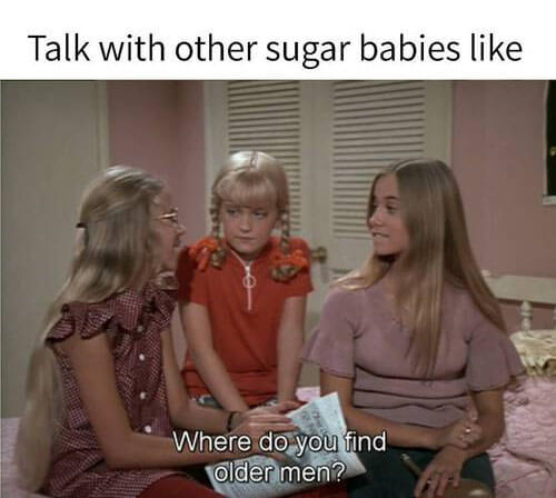 Talk with other sugar babies